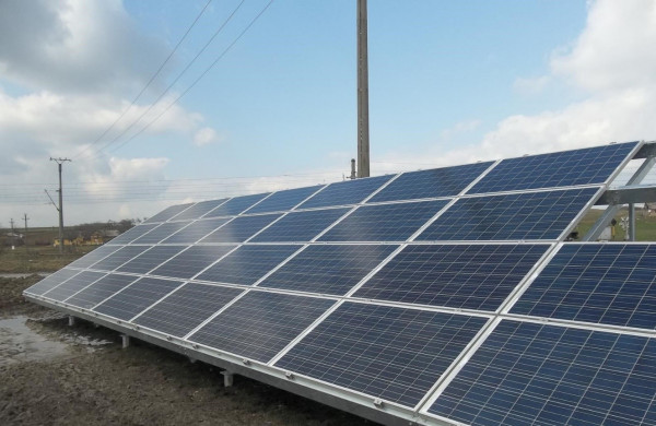 VINGA PV plant on grid connection floor
